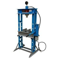 Pneumatic-hydraulic shop press 30t