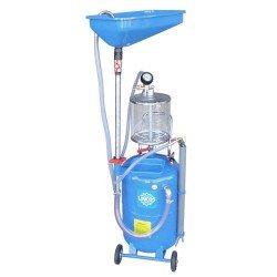 Pneumatikus fáradtolajgyüjtő/leszívó, 80l