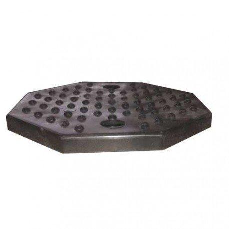 Gumipogácsa csápos emelőhöz, nyolcszög alakú (furatos)