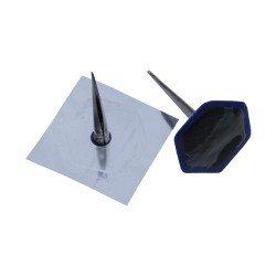 Combination patch plug, metal stem, 35/4mm