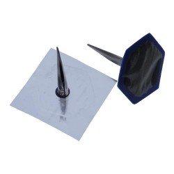 Combination patch plug, metal stem, 45/6mm