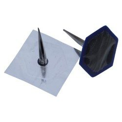 Combination patch plug, metal stem, 50/8mm