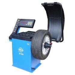 Centírozó, kerékkiegyensúlyozó gép, automata, LED kijelző