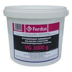 Kerékkiegyensúlyozó granulátum, 3000g