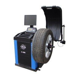 Centírozó, kerékkiegyensúlyozó gép automata, LCD monitor