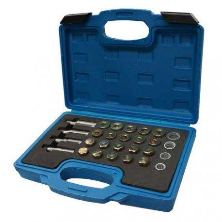 Oil drain plug repair kit , M13, M15, M17, M20