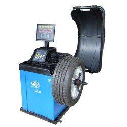 Centírozó, kerékkiegyensúlyozó gép, automata, 4 alu program