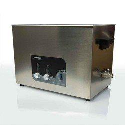 Ultrahangos tisztító, 27l, fűthető, LED kijelző
