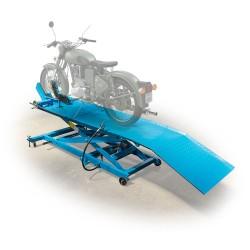 Motorkerékpár emelő, pneumatikus-hidraulikus, 450kg