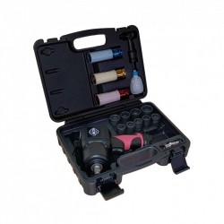"1/2"" impact wrench kit, 1350Nm, 17 pieces"