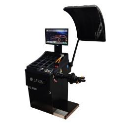 Автоматична баланс машини с лазерно позициониране и автоматично вземане на размери